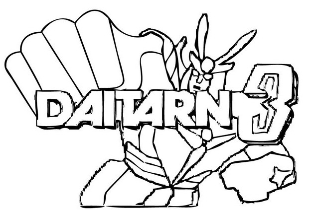 Daitarn da colorare 3