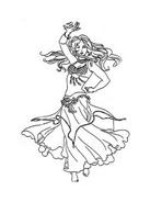 Danza da colorare 43