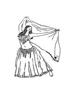 Danza da colorare 48