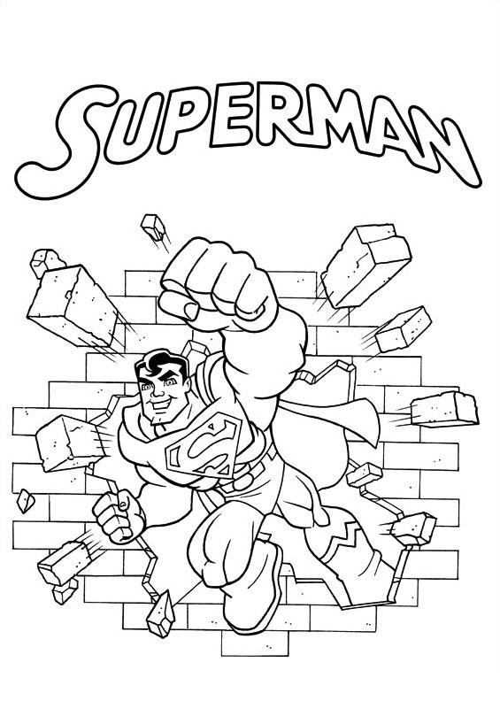 Dc-comics da colorare