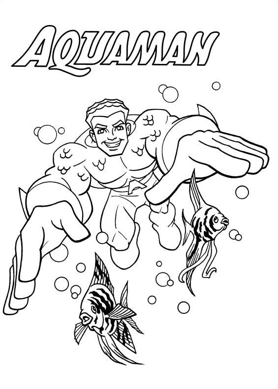Dc-comics da colorare 5
