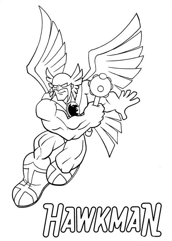 Dc-comics da colorare 8