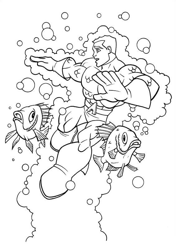 Dc-comics da colorare 15