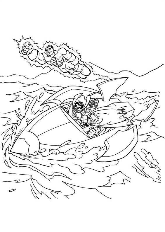 Dc-comics da colorare 21
