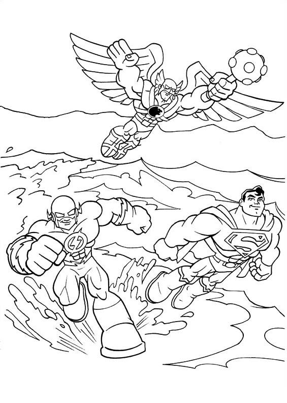 Dc-comics da colorare 22