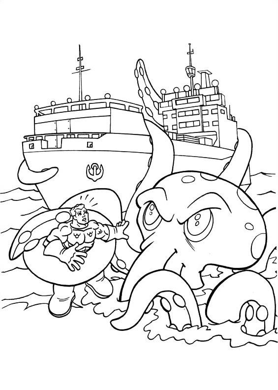 Dc-comics da colorare 23