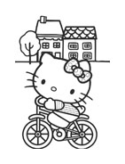 Hello kitty da colorare 7