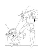Despereaux da colorare 8