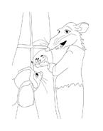 Despereaux da colorare 12