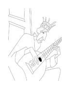 Despereaux da colorare 17