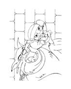 Despereaux da colorare 34