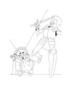 Despereaux da colorare 37