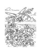 Digimons da colorare 4