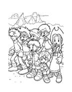 Digimons da colorare 5