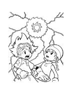 Digimons da colorare 7