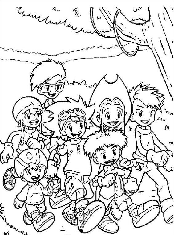 Digimons da colorare 10