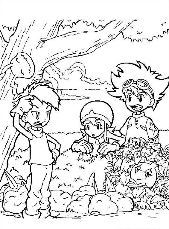 Digimons da colorare 15