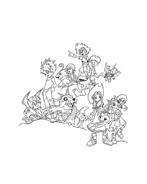 Digimons da colorare 16