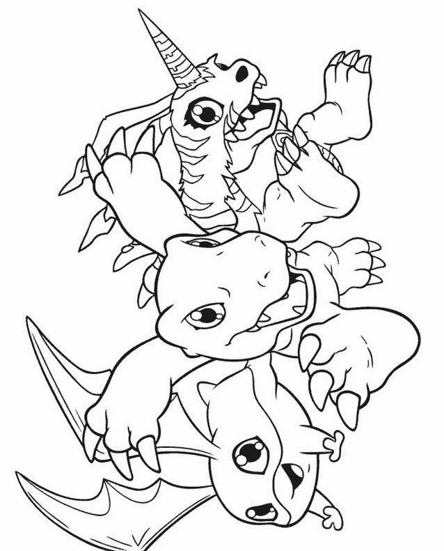 Digimons da colorare 18