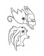 Digimons da colorare 21