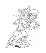 Digimons da colorare 23