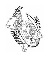 Digimons da colorare 24