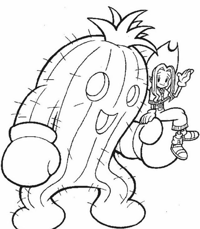 Digimons da colorare 30