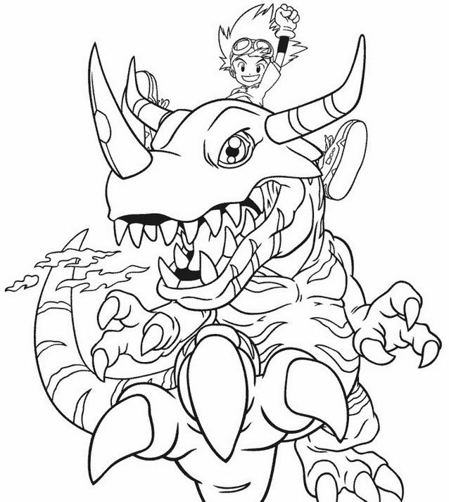 Digimons da colorare 31
