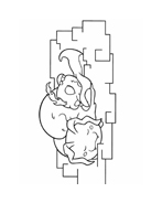 Digimons da colorare 32