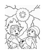 Digimons da colorare 33