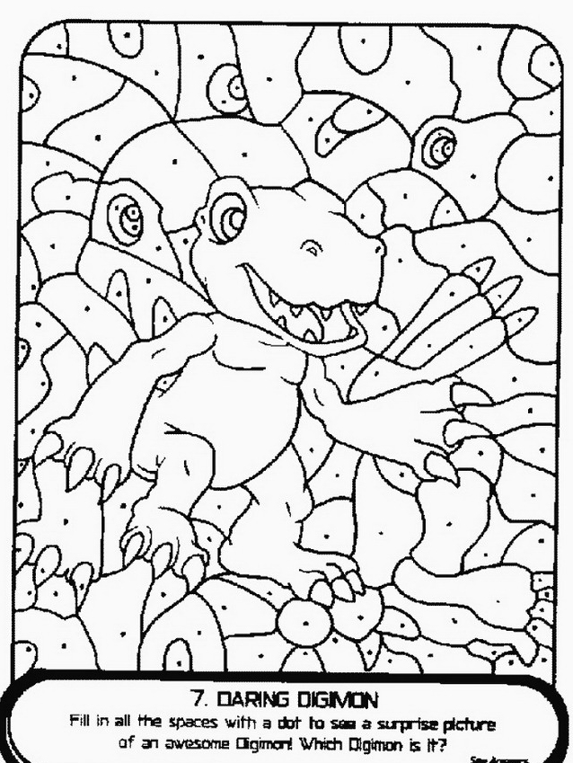 Digimons da colorare 35