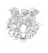 Digimons da colorare 37