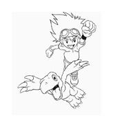 Digimons da colorare 43