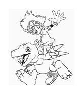 Digimons da colorare 45