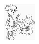 Digimons da colorare 49