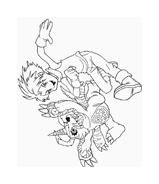 Digimons da colorare 50