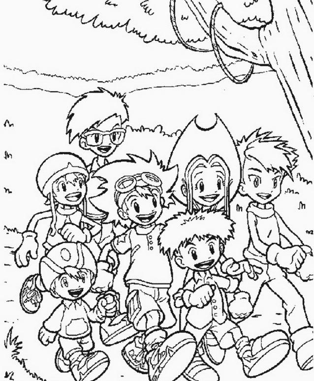 Digimons da colorare 52