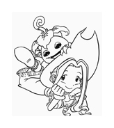 Digimons da colorare 53
