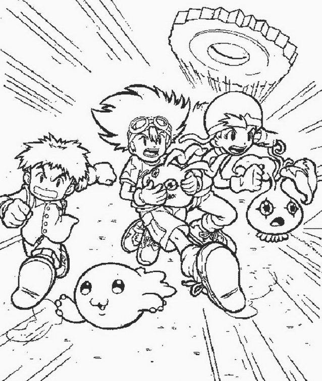 Digimons da colorare 55
