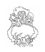 Digimons da colorare 57