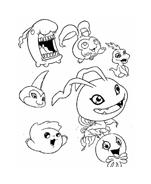 Digimons da colorare 60
