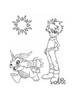 Digimons da colorare 63