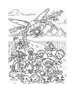 Digimons da colorare 66