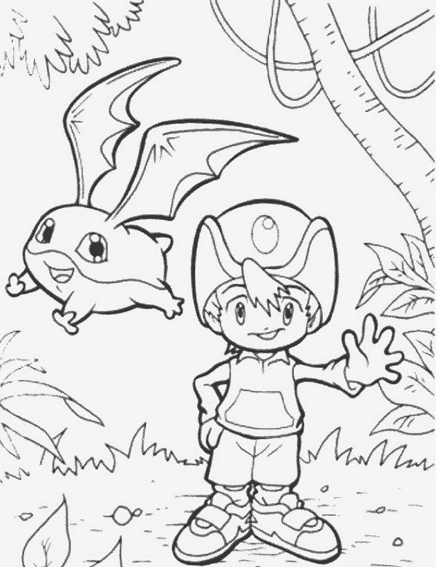 Digimons da colorare 67