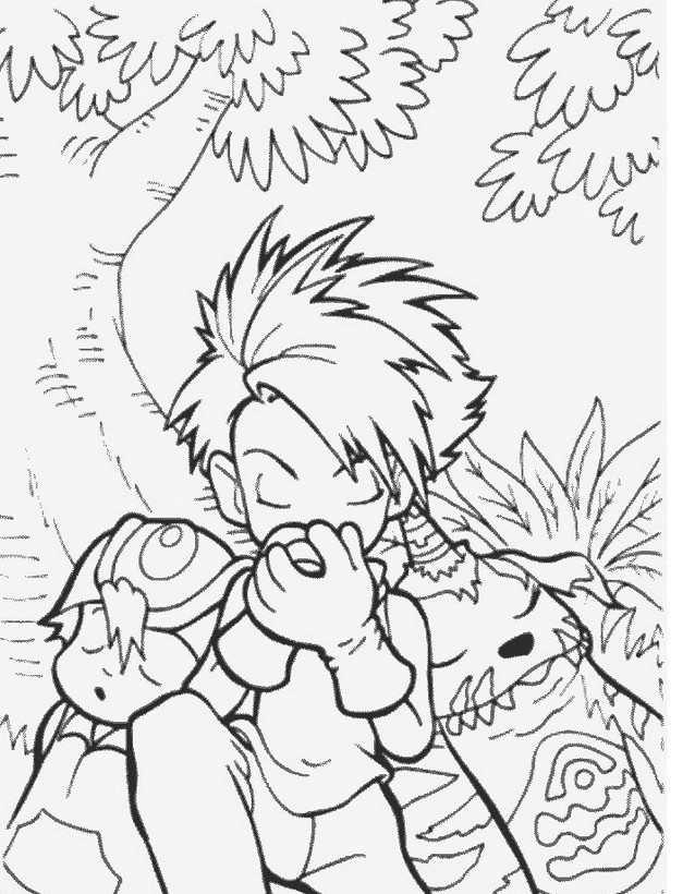 Digimons da colorare 68