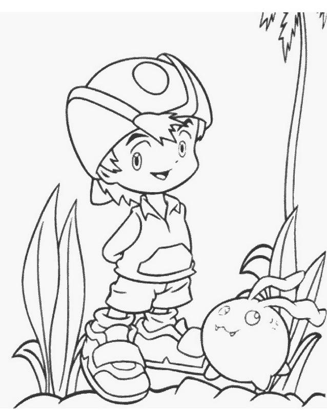Digimons da colorare 69