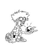 Digimons da colorare 73