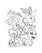 Digimons da colorare 78