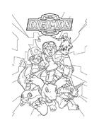 Digimons da colorare 80