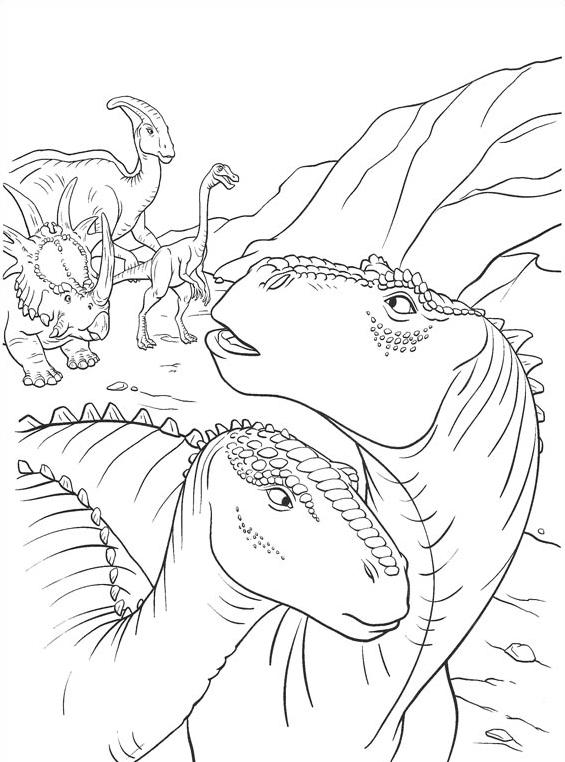 Dinosauro da colorare 22